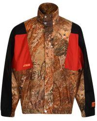 Heron Preston Camo Tracksuit Jacket - Multicolour