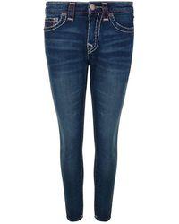 True Religion - Jennie Curvy Skinny Jeans - Lyst