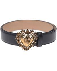 Dolce & Gabbana Logo-buckle Belt - Multicolour