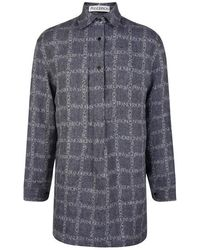 JW Anderson - Tunic Linen Shirt - Lyst