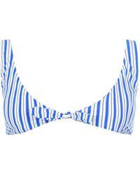 Polo Ralph Lauren Polo Stripe Knot Bra Ld02 - Blue