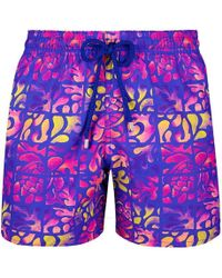 Vilebrequin Phuket Swim Shorts - Blue