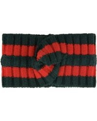 Gucci - Web Stripe Headband - Lyst