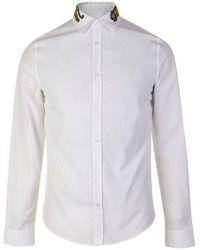 Gucci Cotton Duke Tiger Shirt - White
