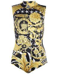 Versace - Baroque Bodysuit - Lyst