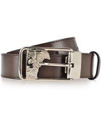Versace - Medua Buckle Belt - Lyst