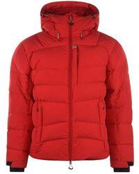 Pyrenex Hudson Down Waterproof Jacket - Red