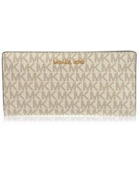 MICHAEL Michael Kors Logo Slim Wallet Womens - Multicolour