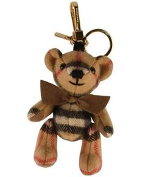 Burberry Thomas Bear Keyring - Brown