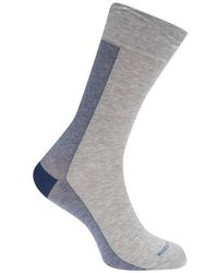 BOSS by Hugo Boss - Hugo Boss 1 Pack Half Stripe Socks - Lyst