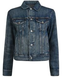 Polo Ralph Lauren - Flag Denim Jacket - Lyst