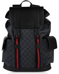 29a93090662e Gucci -dapper Dan Backpack in Black for Men - Lyst