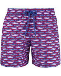 Vilebrequin Marbella Moorea Swim Shorts - Blue