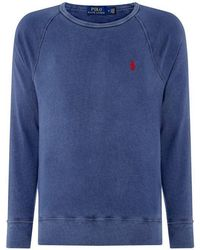 And Big French Sweater Rib Polo Tall In Lauren Half Zip Ralph l1c3TFKJ