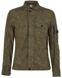 C P Company Camo Shirt - Green