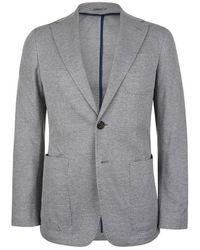 Canali Jersey Blazer - Gray