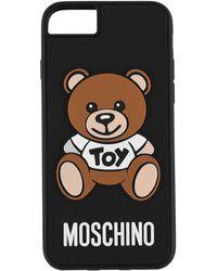 Moschino - Iphone Teddy Case - Lyst