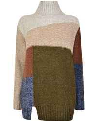 French Connection - Anna Knitted Jumper - Lyst