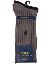 Polo Ralph Lauren - Two Pack Cotton Socks - Lyst