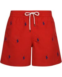 Polo Ralph Lauren - Over Pony Swim Shorts - Lyst