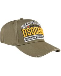 DSquared² - Military Logo Cap - Lyst