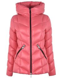 a268aba17 Moncler Agate Giubbotto Jacket in Blue - Lyst