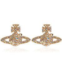 Vivienne Westwood - Jewel Grace Stud Earrings - Lyst