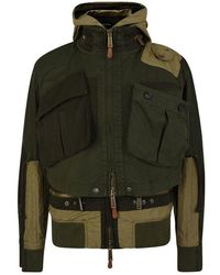 DSquared² Military Jacket - Green