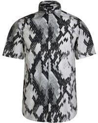 Just Cavalli - Python Short Sleeve Shirt - Lyst