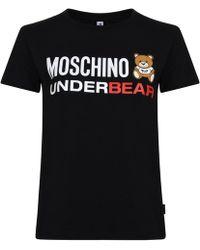 Moschino - Underbear Short Sleeved T Shirt - Lyst