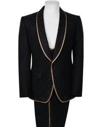 Dolce & Gabbana Martini Suit - Black