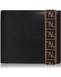 Fendi Black Leather Wallet