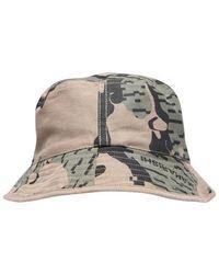 Maharishi Camo Reversible Bucket Hat - Multicolour