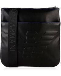 Emporio Armani - Eagle Messenger Bag - Lyst