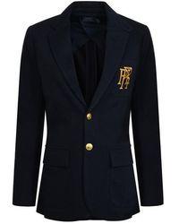Polo Ralph Lauren Logo Blazer - Blue