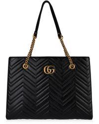Gucci - Marmont Shopper Bag - Lyst