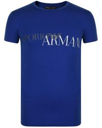 Emporio Armani - Logo Lounge T Shirt - Lyst