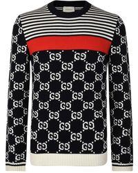 3c03595ce77 Lyst - Men s Gucci Crew neck jumpers Online Sale