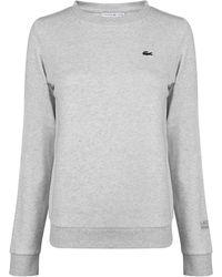 Lacoste - Logo Sweatshirt - Lyst