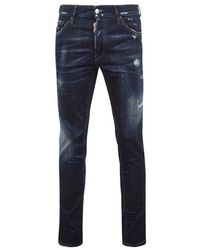 DSquared² Cool Guy Dark Jeans - Blue