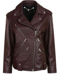 McQ - Zip Biker Jacket - Lyst