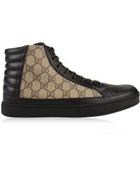 Gucci - Common High Gg Trainers - Lyst