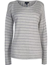 Armani Jeans - Striped Long Sleeve T Shirt - Lyst