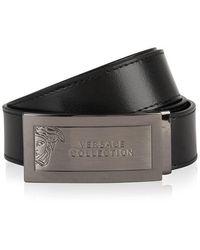 Versace - Logo Belt - Lyst