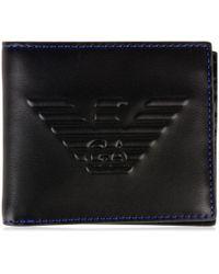 Emporio Armani - Eagle Debossed Wallet - Lyst