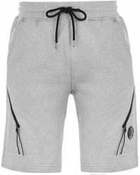 CP Company Lens Sweat Shorts Grey M93
