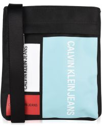 Calvin Klein - Essential Patch Cross Body Bag - Lyst
