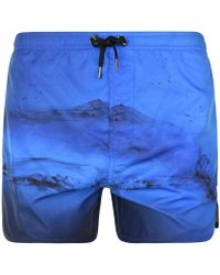 Neil Barrett - Ink Swim Shorts - Lyst