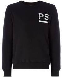 PS by Paul Smith - Ps Chest Logo Swt Sn92 - Lyst