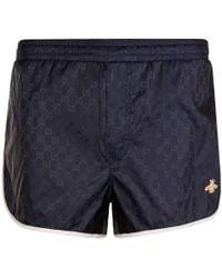 Gucci - Jacquard Swim Shorts - Lyst